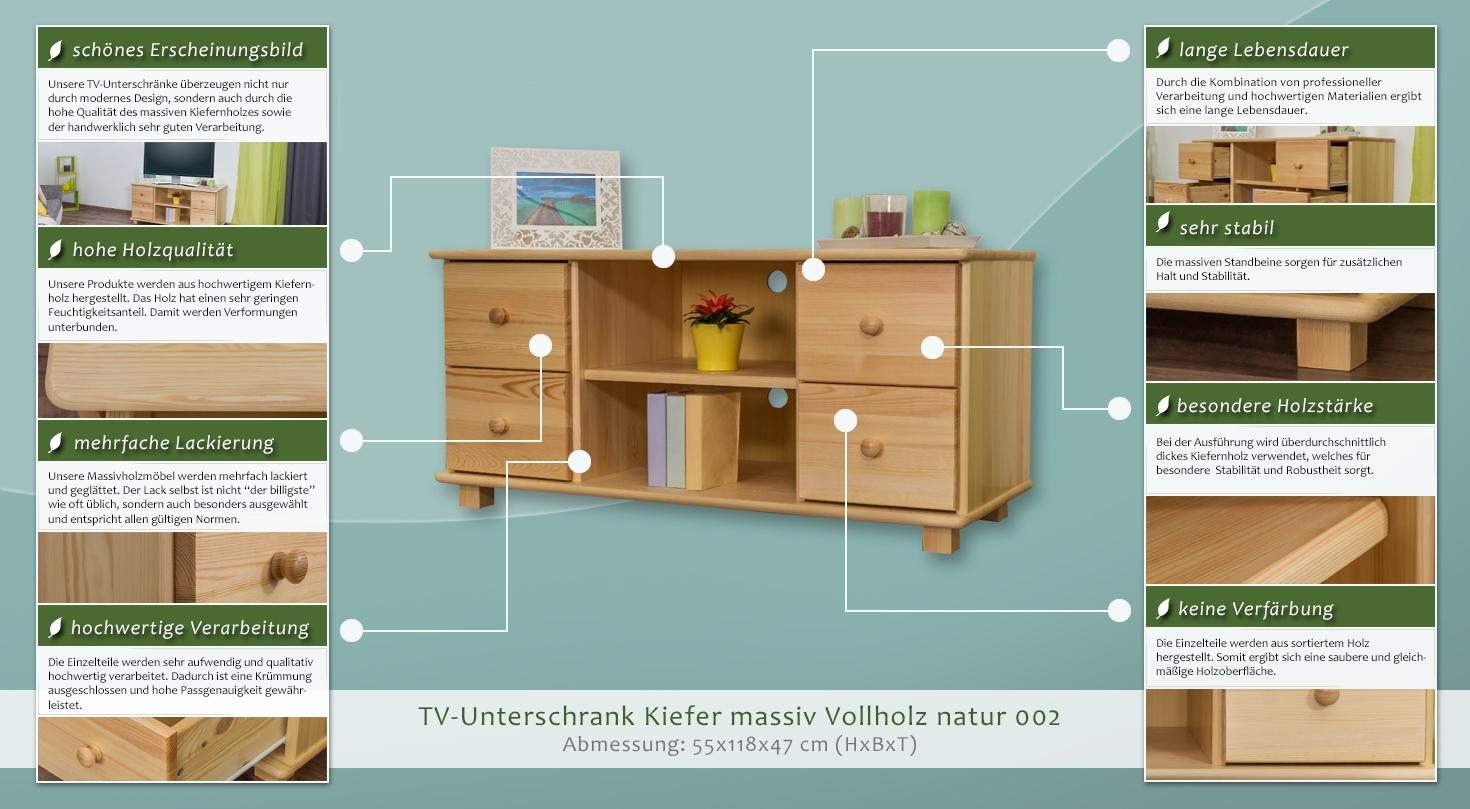 fernsehunterschrank 002 55 x 118 x 47 cm h x b x t. Black Bedroom Furniture Sets. Home Design Ideas
