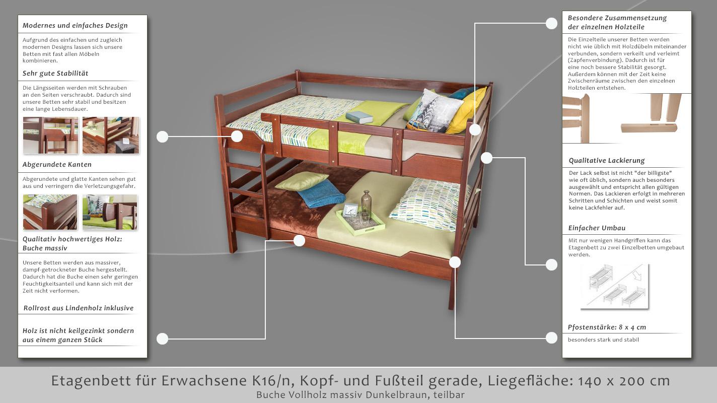 Etagenbetten Für Erwachsene 140x200 : Etagenbett für erwachsene luxus hochbett selber