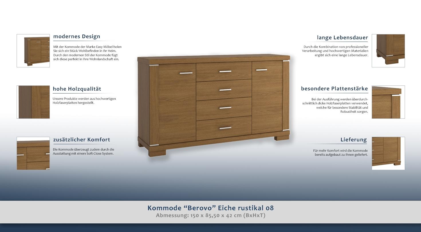 wohnzimmerschrank kommode 150 cm breit t ren 2 h he cm 85 5 l nge tiefe cm 42 breite. Black Bedroom Furniture Sets. Home Design Ideas