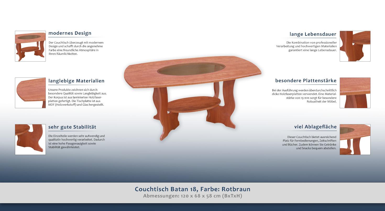 wohnzimmertisch farbe braun 58x120x68 cm h he cm 58 l nge tiefe cm 68 breite cm 120. Black Bedroom Furniture Sets. Home Design Ideas