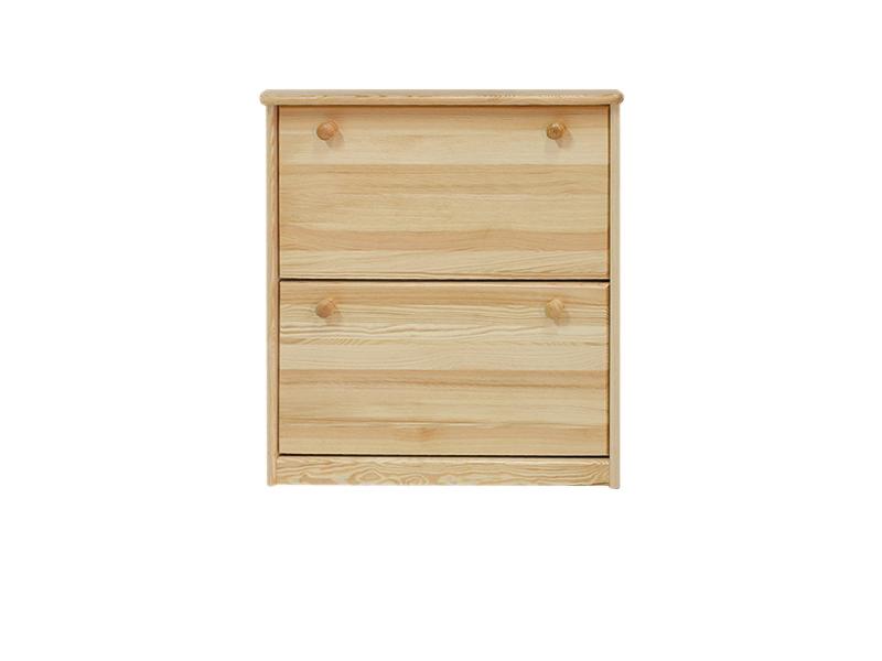schuhschrank 005 kiefer massiv vollholz natur abmessung 80x72x29cm. Black Bedroom Furniture Sets. Home Design Ideas