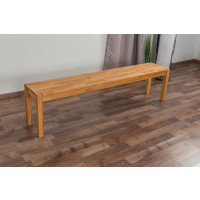 Bank Wooden Nature 134 Buche massiv - 180 x 33 cm (L x B)