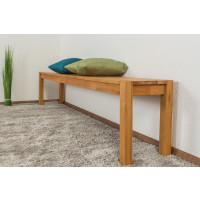 Bank Wooden Nature 134 Kernbuche massiv - 200 x 33 cm (L x B)