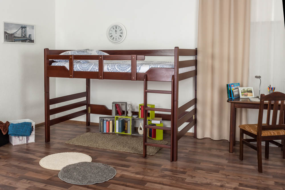 Etagenbett Für Erwachsene 120x200 : Etagenbett für erwachsene k n kopf und fußteil gerade buche