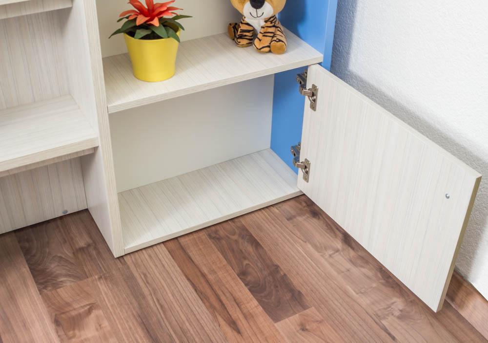 funktionsbett kinderbett hochbett kombination mit. Black Bedroom Furniture Sets. Home Design Ideas