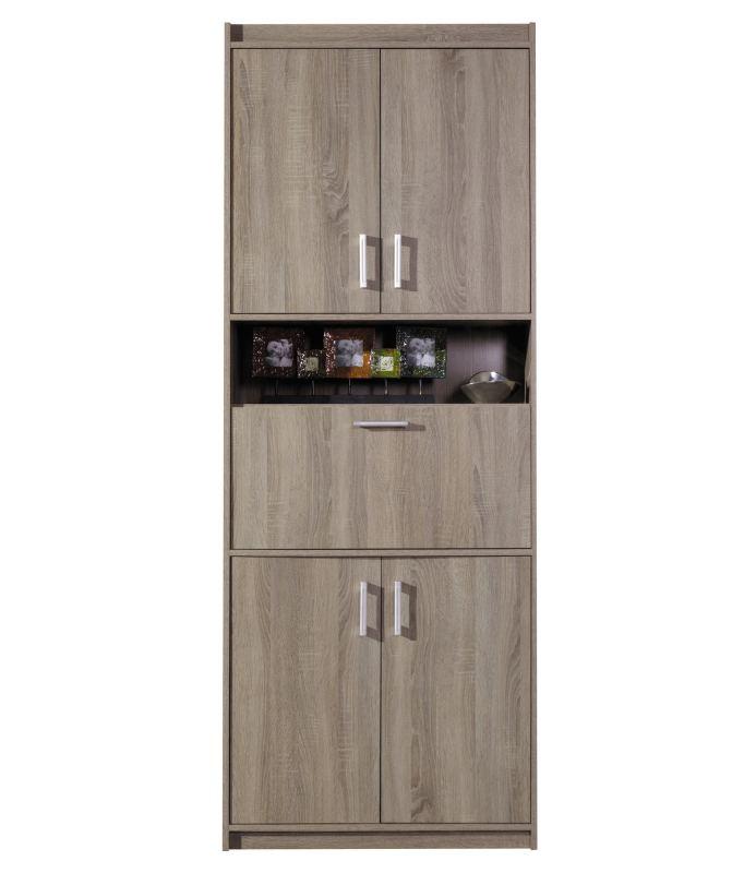 wohnzimmerwand a kontich farbe eiche tr ffel. Black Bedroom Furniture Sets. Home Design Ideas