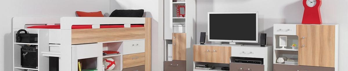 Jugendzimmermöbel weiß  Easy Möbel Shop
