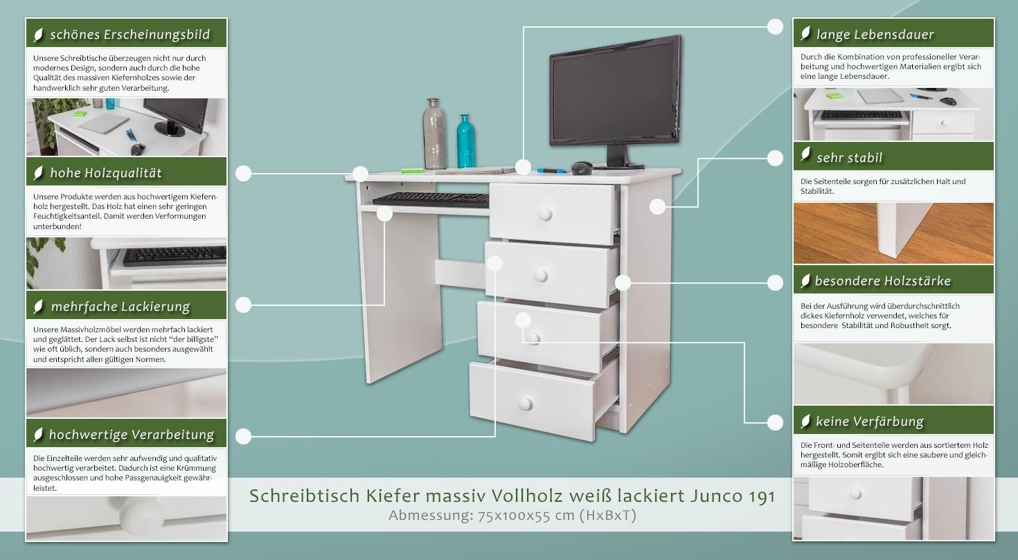 kinderschreibtisch 100 cm breit. Black Bedroom Furniture Sets. Home Design Ideas